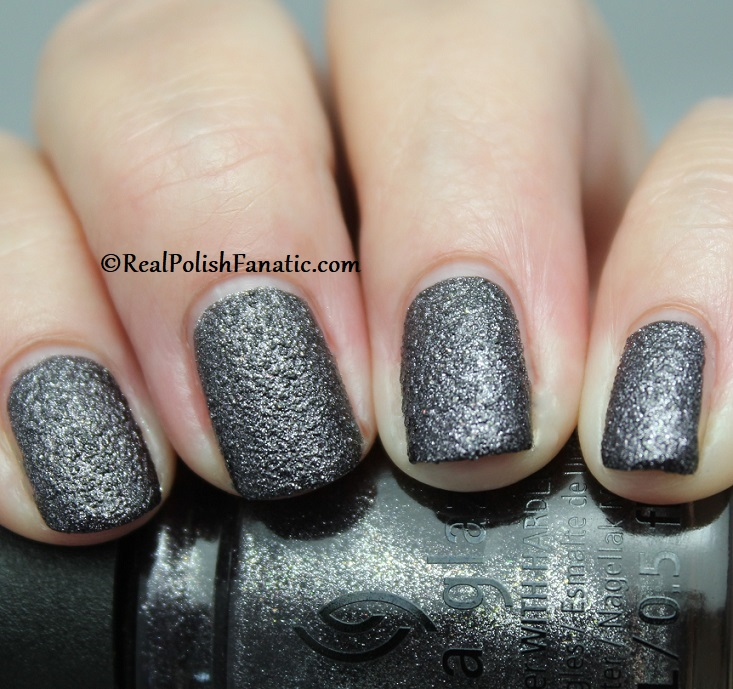 China Glaze - You've Got Blackmail -- Catch A Color Collection Halloween 2019 (8)