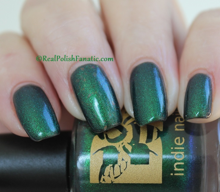 Bees Knees Hide And Seek FTW over Nail Pattern Boldness The Headless Horseman (12)