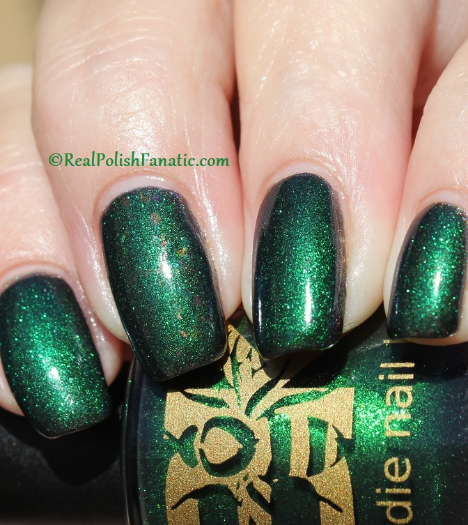 Bees Knees Hide And Seek FTW over Nail Pattern Boldness The Headless Horseman (15)