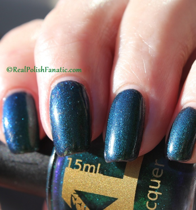 Bees Knees Hide And Seek FTW over Nail Pattern Boldness The Headless Horseman (27)
