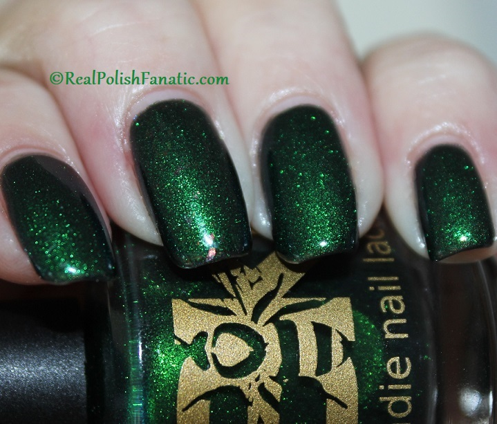 Bees Knees Hide And Seek FTW over Nail Pattern Boldness The Headless Horseman (4)