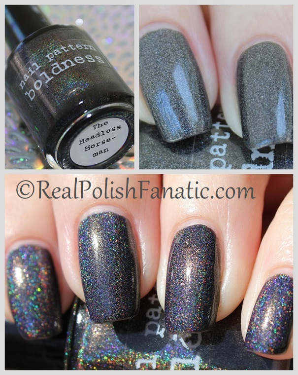 Nail Pattern Boldness - The Headless Horseman