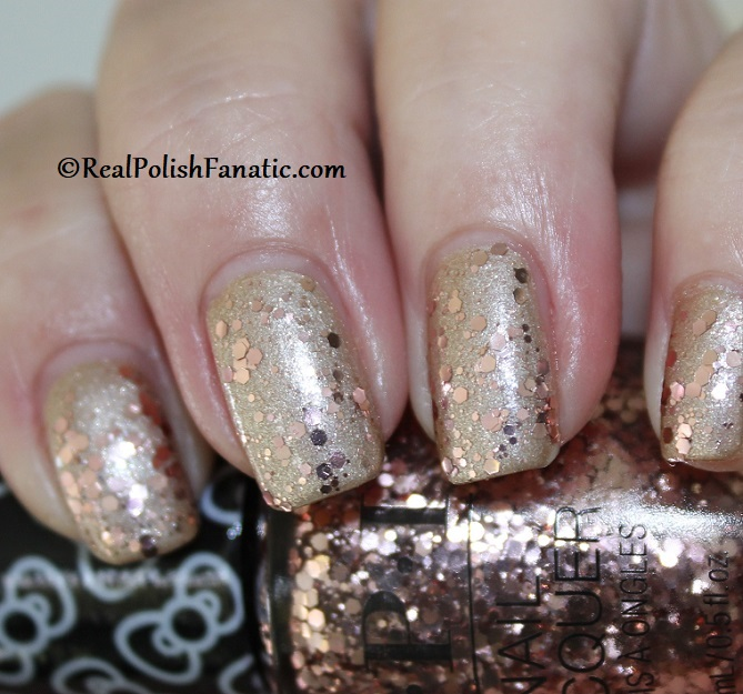 OPI - Born to Sparkle over Many Celebrations to Go -- OPI Hello Kitty 2019 Holiday Collection - Glitter Trio (3)