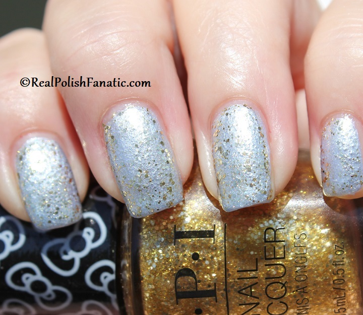 OPI - Glitter All the Way over Let Love Sparkle -- OPI Hello Kitty 2019 Holiday Collection - Glitter Trio (19)