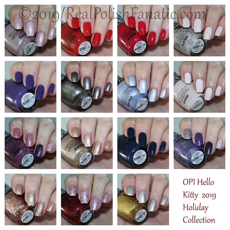OPI Hello Kitty 2019 Holiday Collection (1)