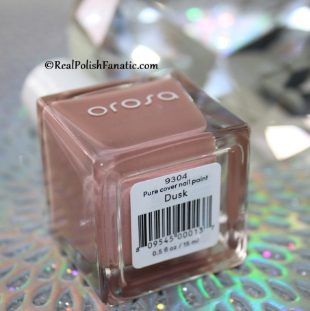 Orosa Beauty Pure Cover Nail Paint - Dusk // Winter Set November 2019