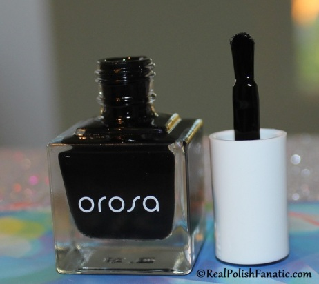 Orosa Beauty Pure Cover Nail Paint - Onyx // Winter Set November 2019