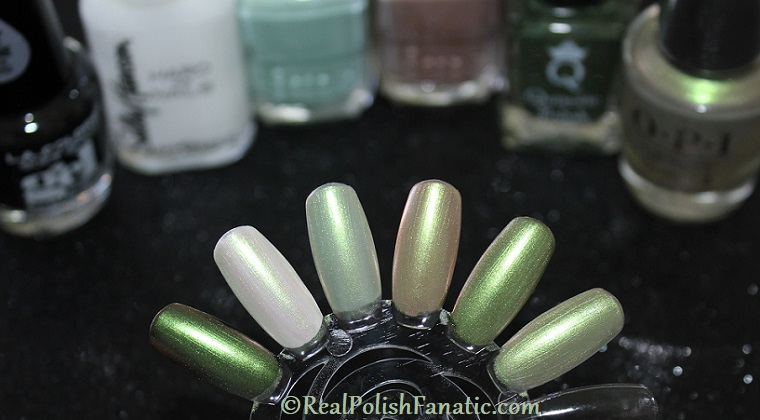 OPI - Olive For Pearls (layered) -- Spring 2020 Neo Pearl Infinite Shine (3)